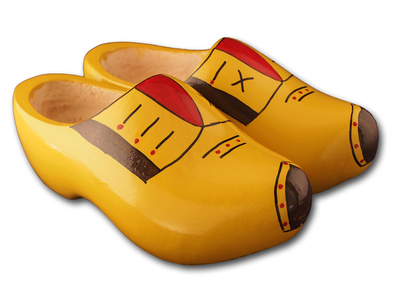 Aarle Yellow Clogs