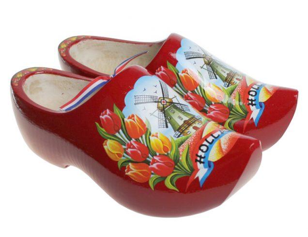 红 木鞋博