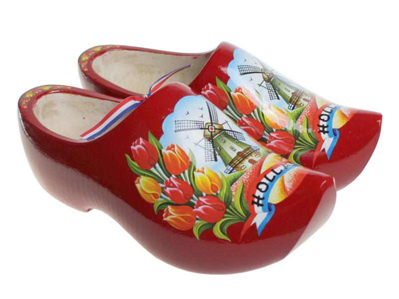 Dutch Clogs Model Red Tulip - Dutch Clogs