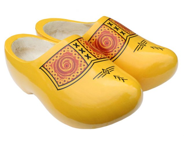 Traditional-Dutch-Clogs-Model-Farmer-Yellow