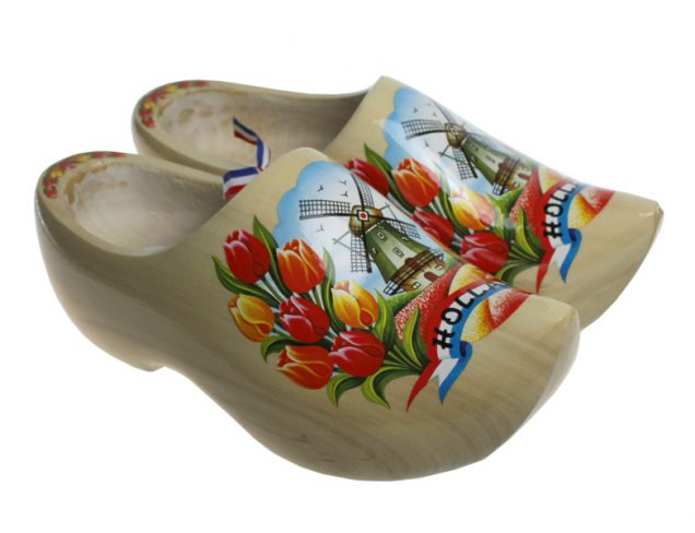 Dutch Clogs Model Blank Tulip
