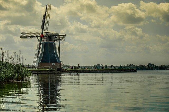 Wooden Shoes Mills The Netherlands