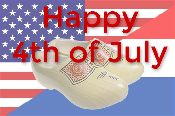 Dutch Clogs 10 percent discount Independence Day 2018